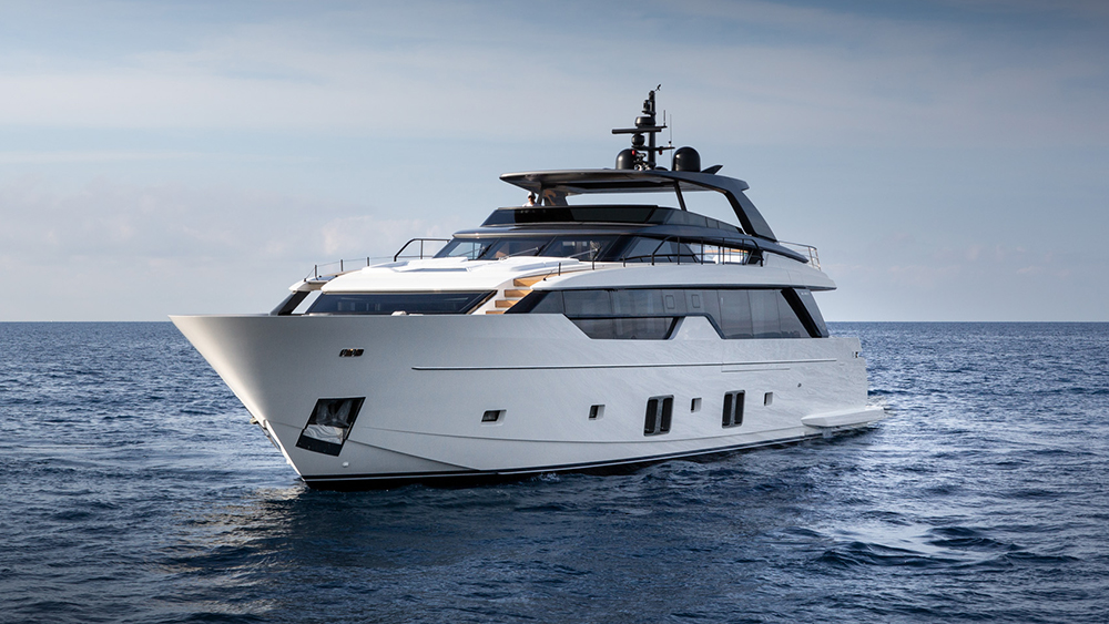 Sanlorenzo SL102 Asymmetric Yacht.