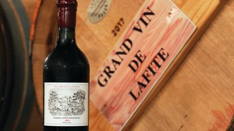 Lafite Rothschild wine auction