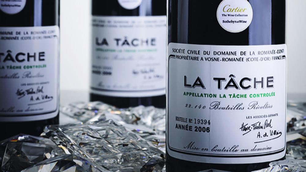 La Tache Sothebys wine