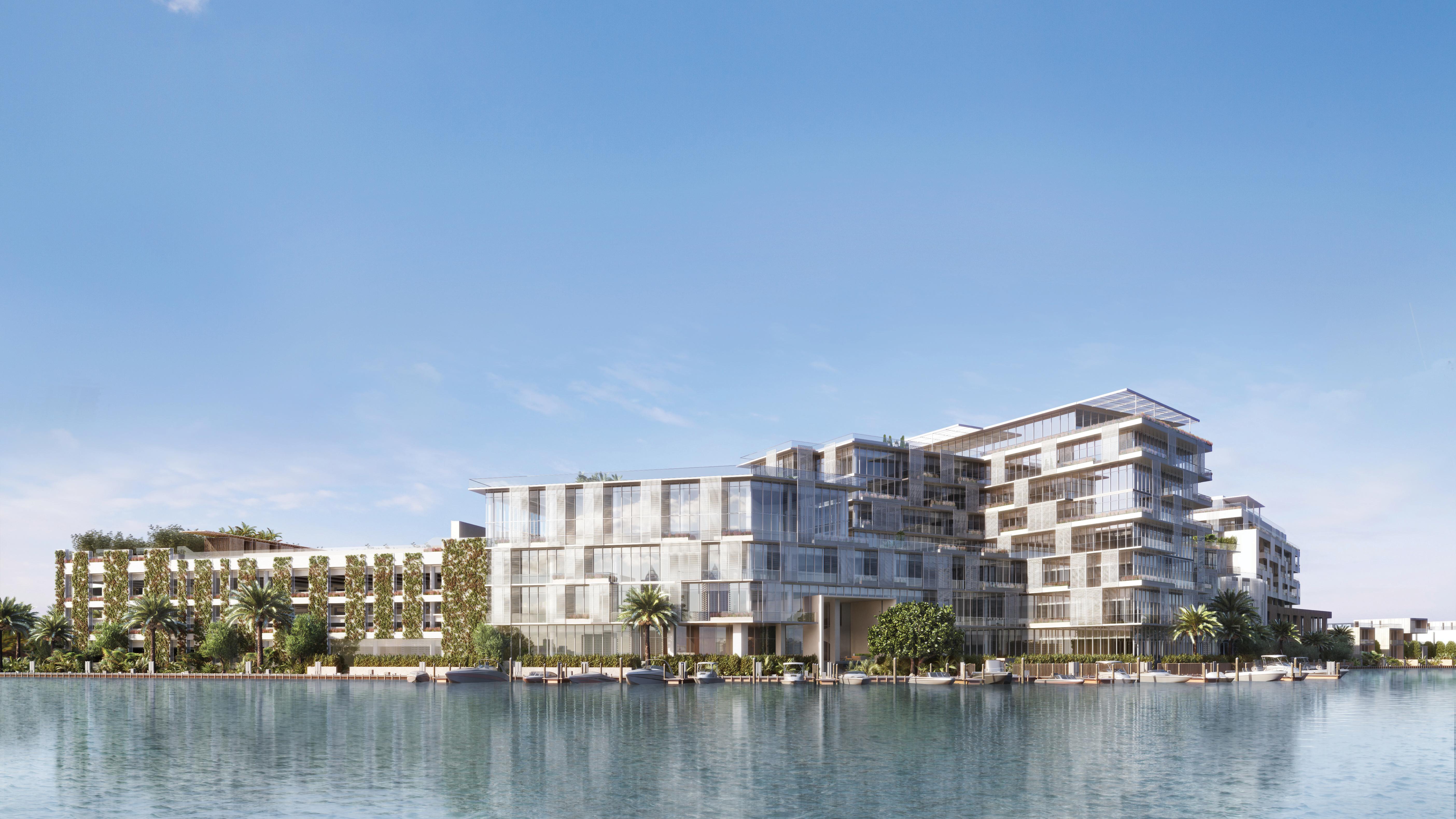 The Ritz-Carlton Residences, Miami Beach's exterior