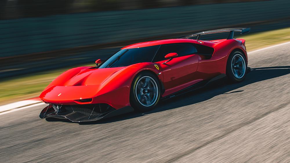 Meet The One Off Ferrari P80 C A Custom Track Monster Robb Report