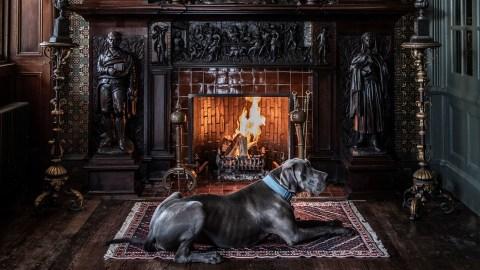 Fife Arms fireplace.