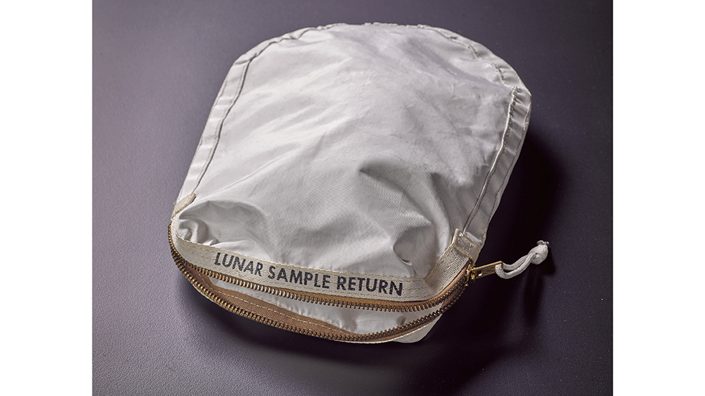 In 2017, Hatton auctioned the cloth bag in which Neil Armstrong collected samples of the moon's surface during the Apollo 11 mission for $1.8 million.