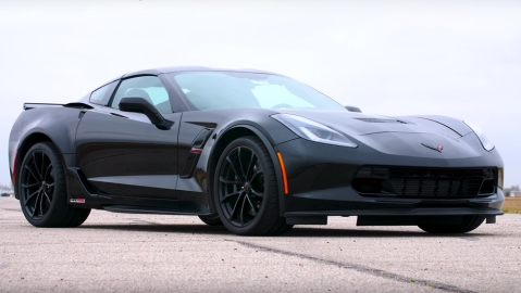 Corvette Grand Sport with HPE1000 upgrade
