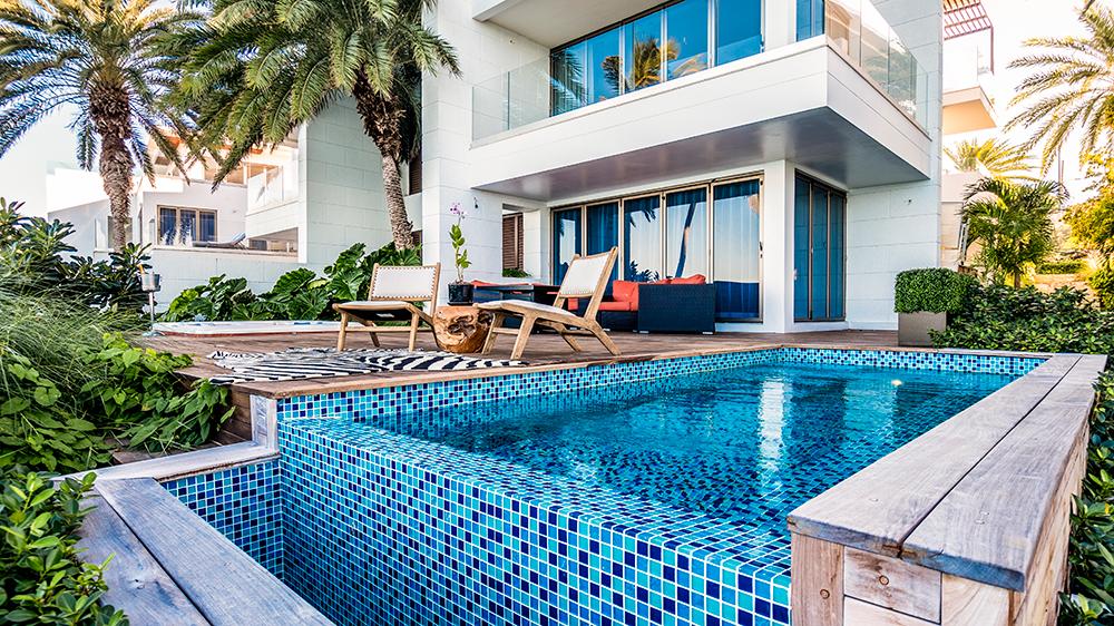 Caribbean resort Antigua private pool villa