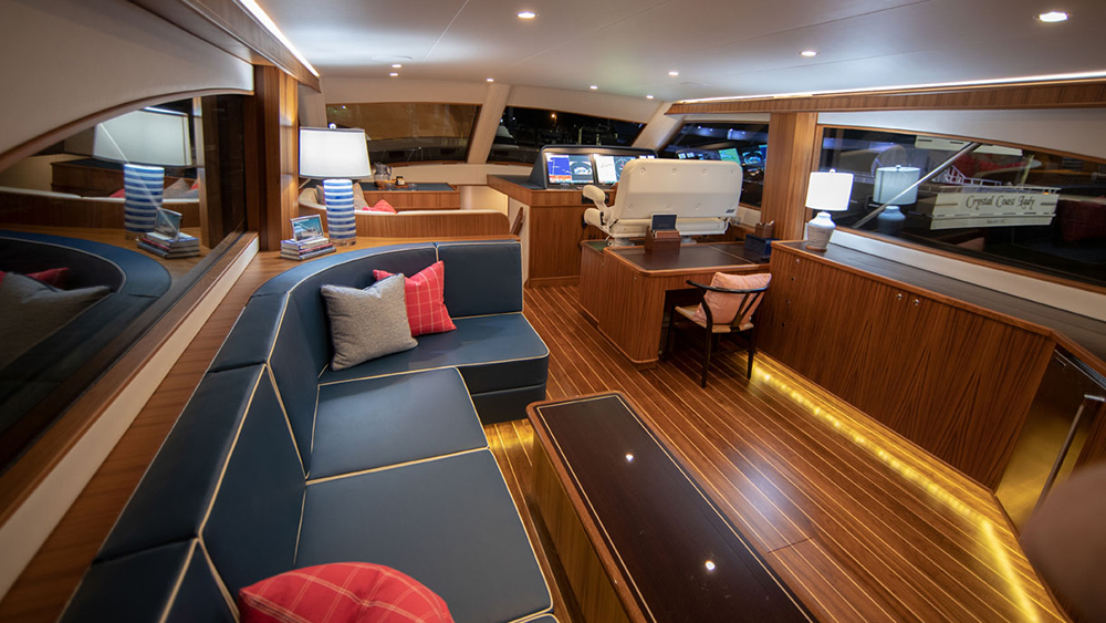 Jarrett Bay 67 Sport Yacht Privateer