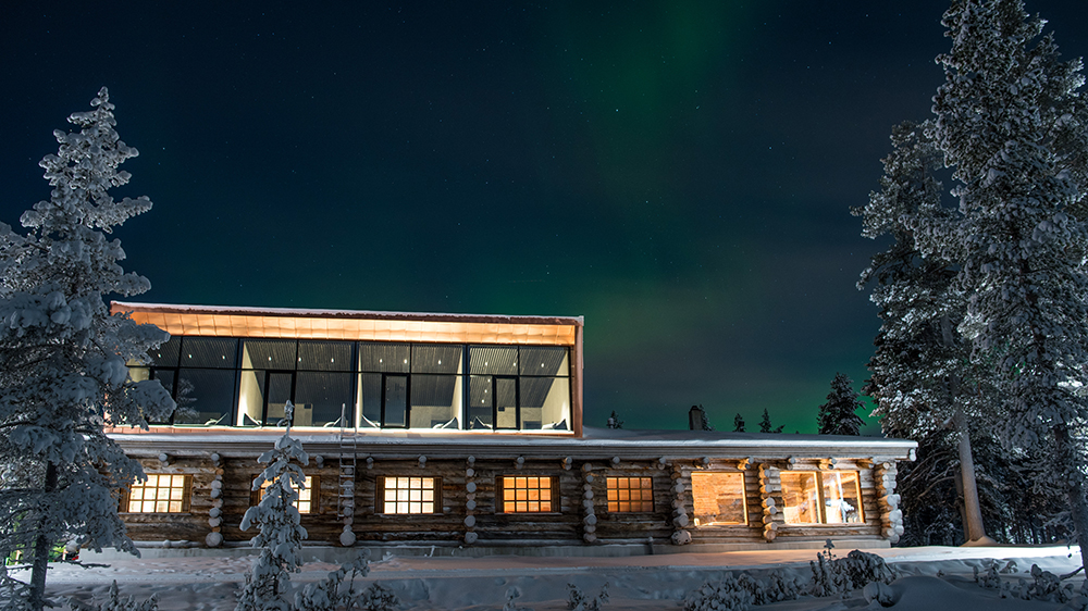 northern lights aurora borealis Finland Finnish Lapland