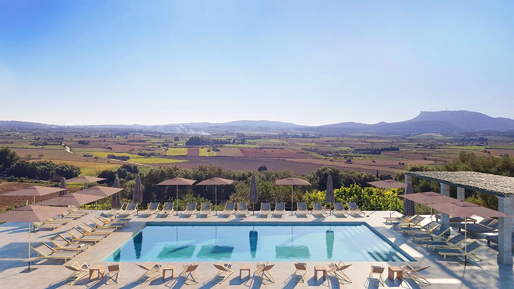 Mallorca resort pool