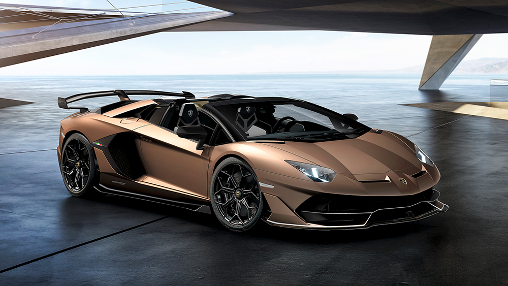 The 770HP Lamborghini Aventador SVJ Roadster Debuts at Geneva – Robb Report