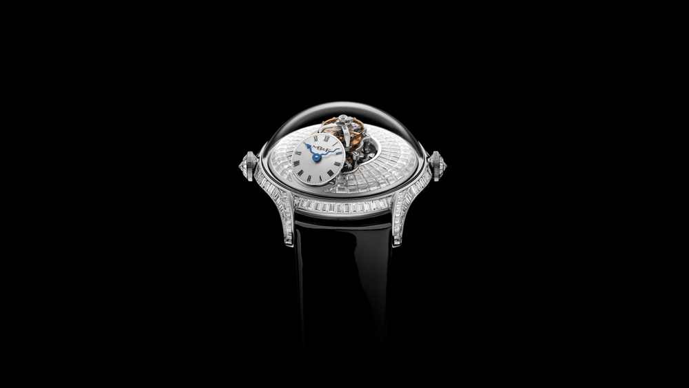 MB&F LM Flying T with Baguette Diamonds