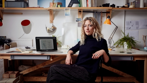 Designer Marjan van Aubel