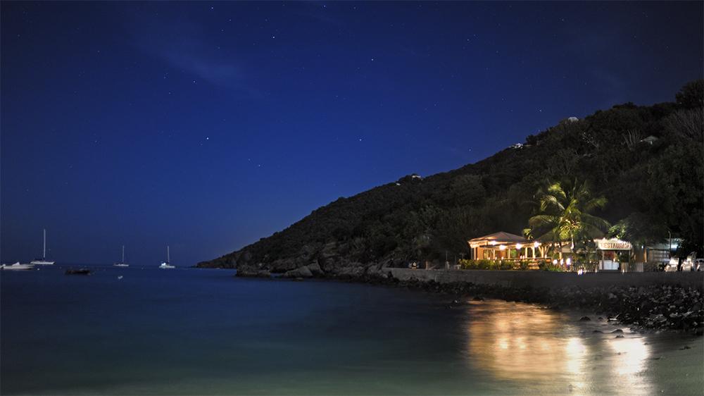 restaurant island beach st barts Caribbean