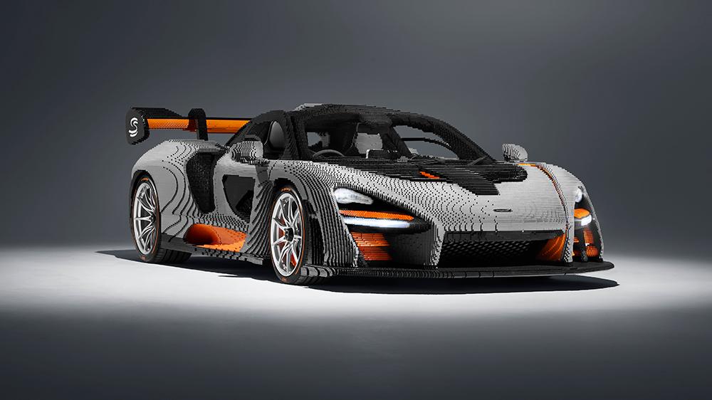 Full-Scale LEGO® McLaren Senna