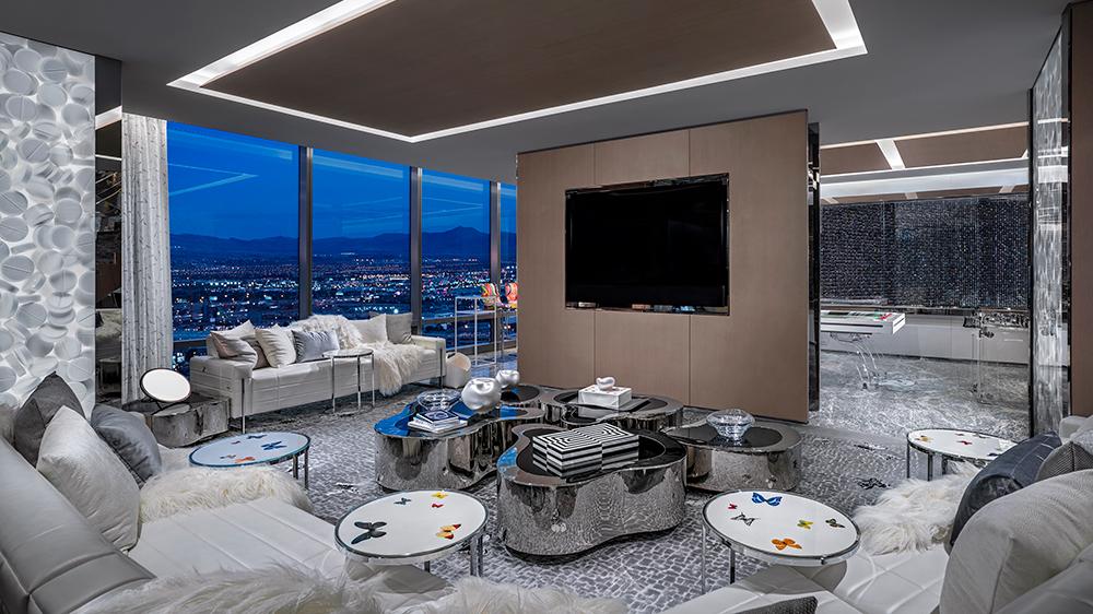 suite the palms Las Vegas Damien Hirst