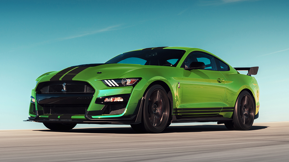 The Mustang Shelby GT500