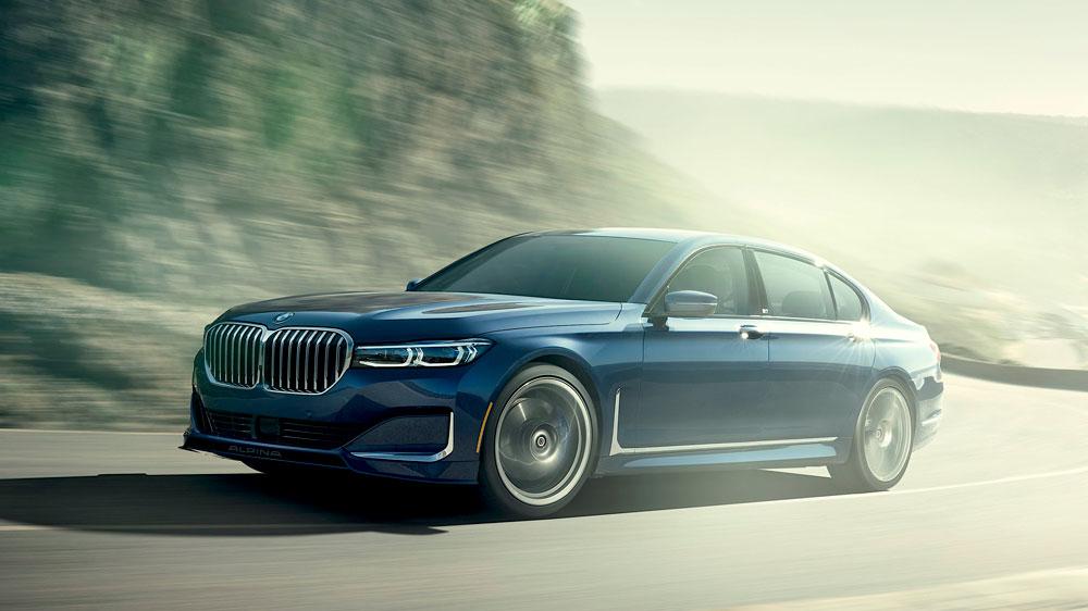The 2020 BMW Alpina B7.
