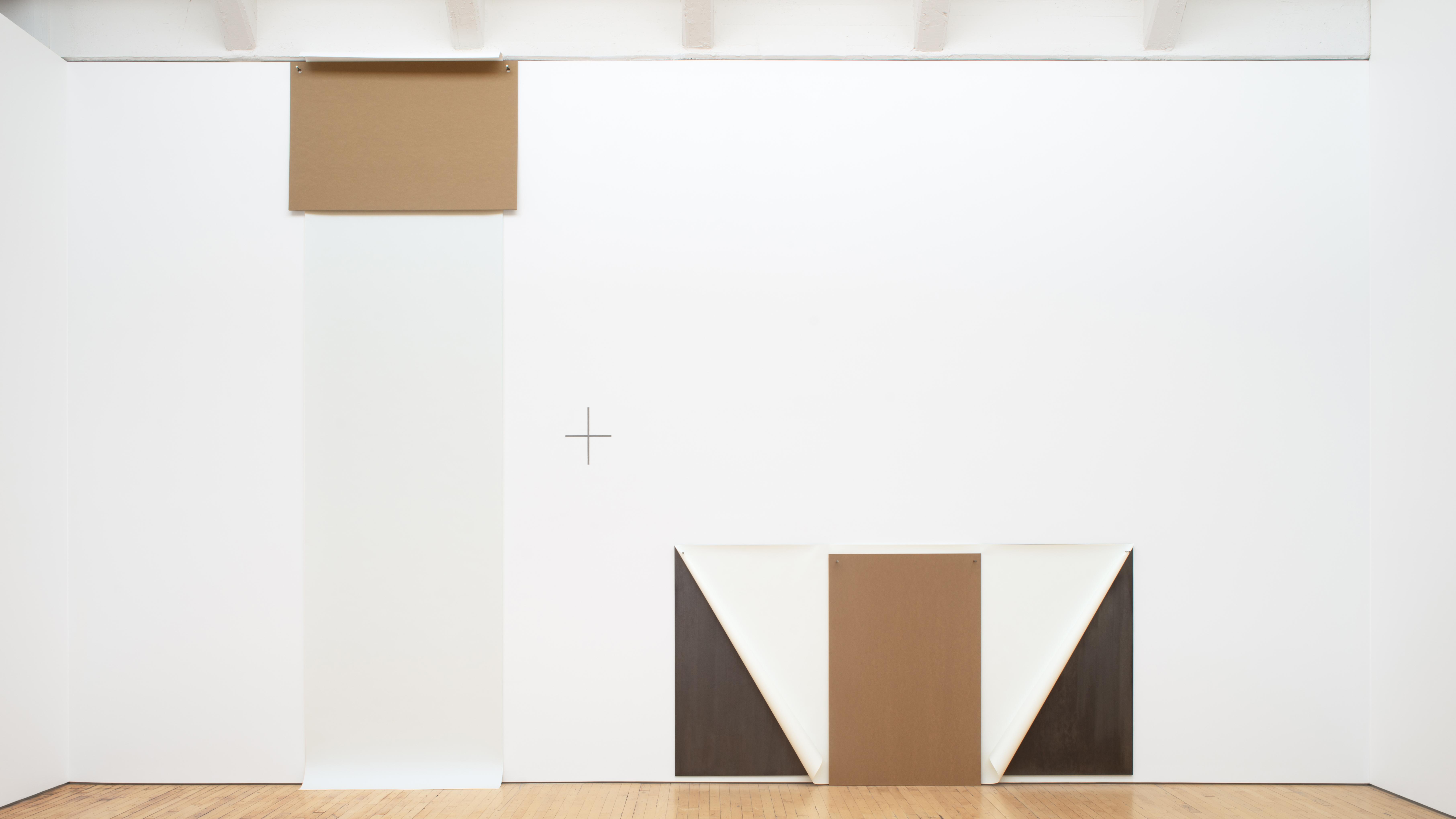 Dorothea Rockburne's exhibition at Dia:Beacon