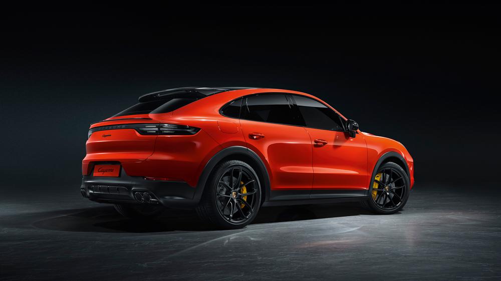 The 2020 Porsche Cayenne Coupe.