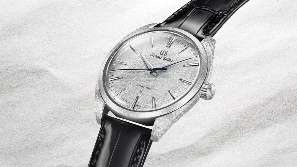 Robb Report's Best Newcomer Watch 2019, Grand Seiko Snowflake