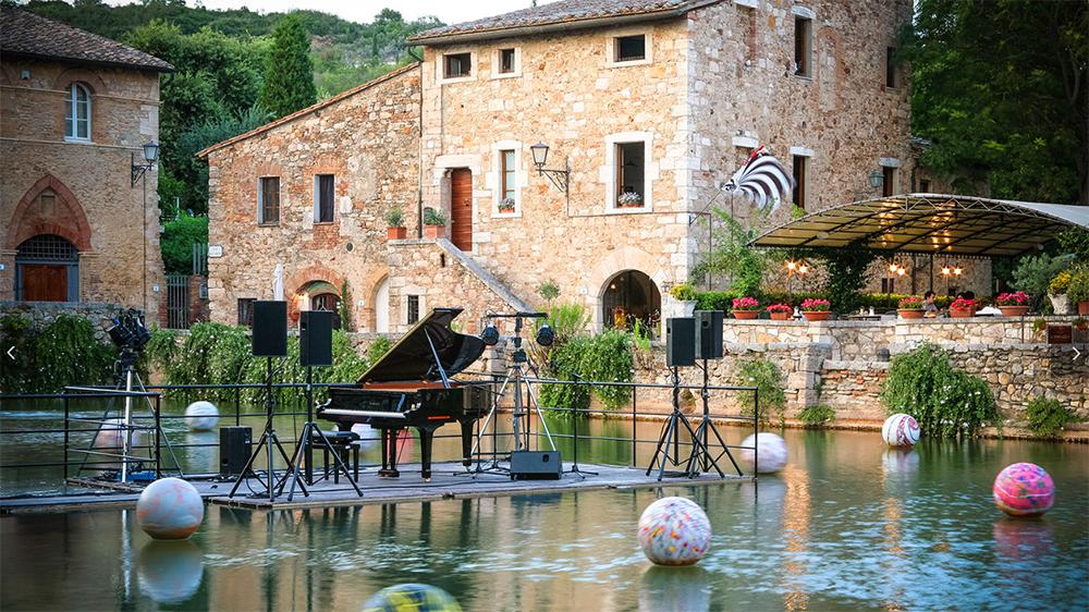 historic villa in Siena, Italy
