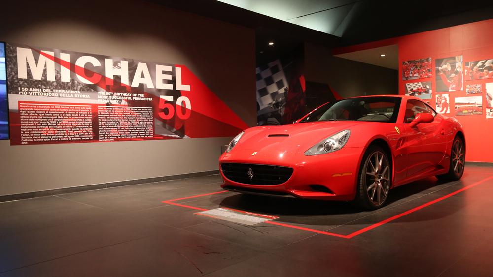 A 2008 Ferrari California.