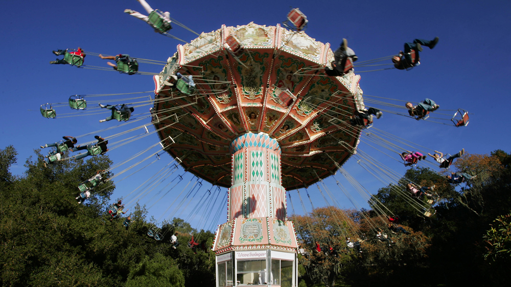 Former Amusement Park Ride at the Neverland Ranch