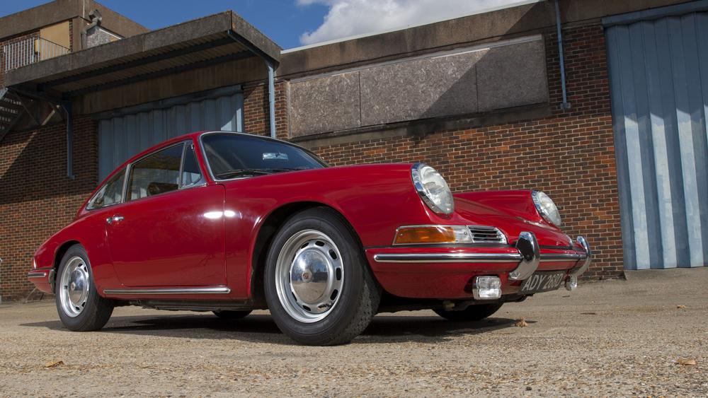 A 1966 Porsche 911.