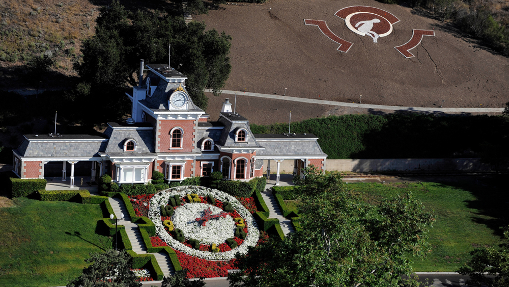 Train Station at the Neverland Ranch