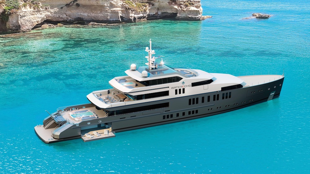 VSY Waterecho superyacht concept designed by Espen Øino.