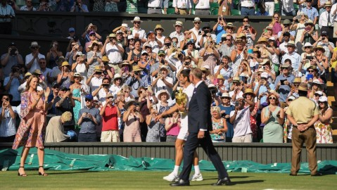 VIP Wimbledon Tickets become available for purchase this week.