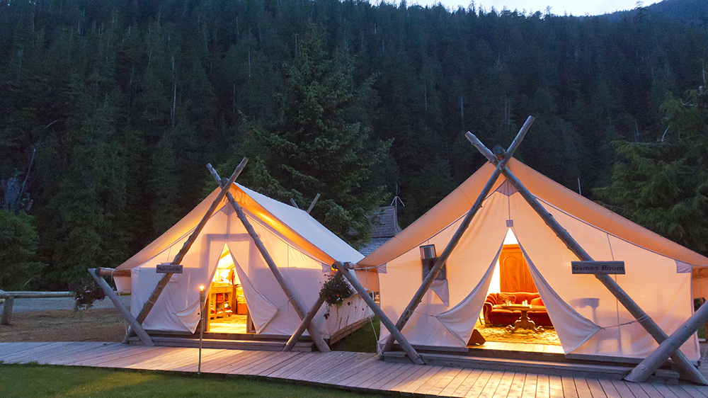 Clayoquot Wilderness Resort Vancouver Island Canada