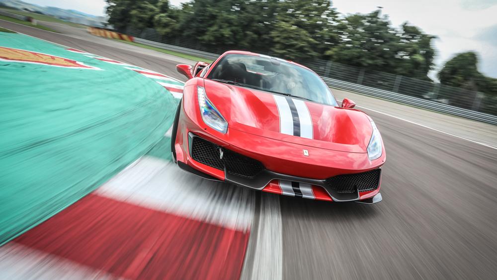 Robb Report Test-Drives the Ferrari 488 Pista at Fiorano.
