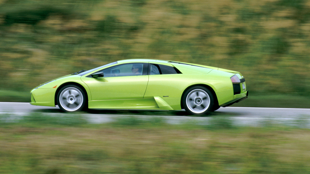 Lamborghini's Murcielago.