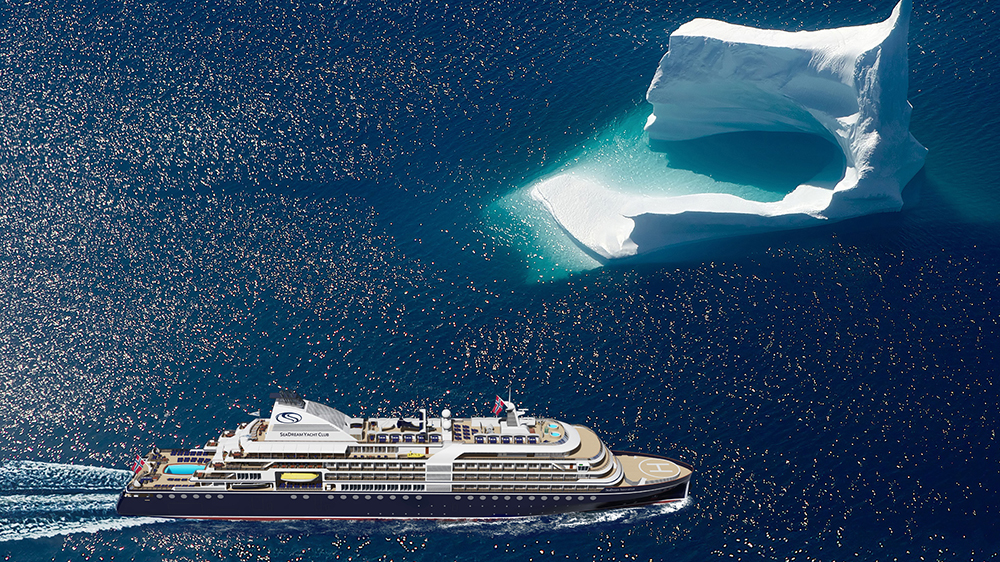 SeaDream Innovation cruise ship Antarctica
