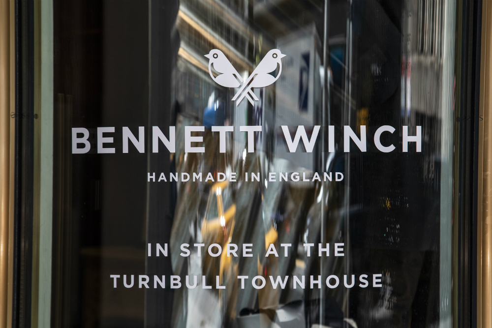 Bennett Winch, founded in London in 2014, is now available in the United States.