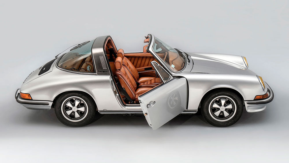 A Porsche 911 Targa Featuring Berluti Leather Is Up For Auction Robb Report