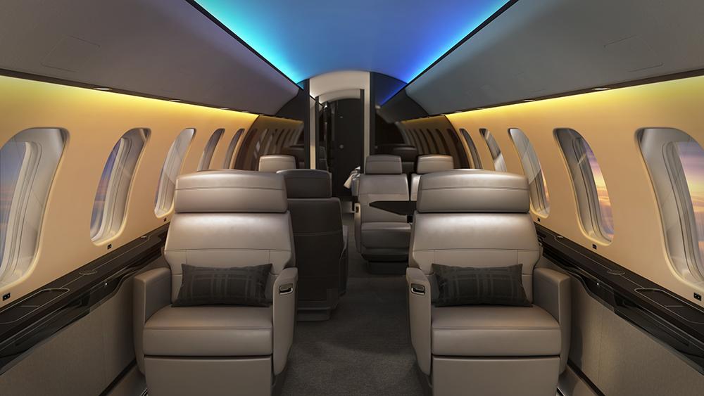 Bombardier Global 7500 Soleil Lighting System