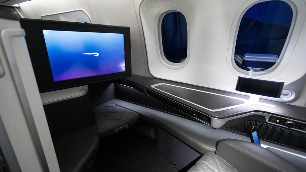 High-speed WiFi and big-screen TVs are part of the in-flight experience today