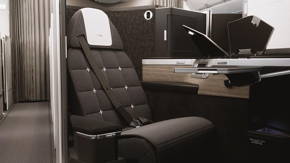 British Airways' Club World business-class suite