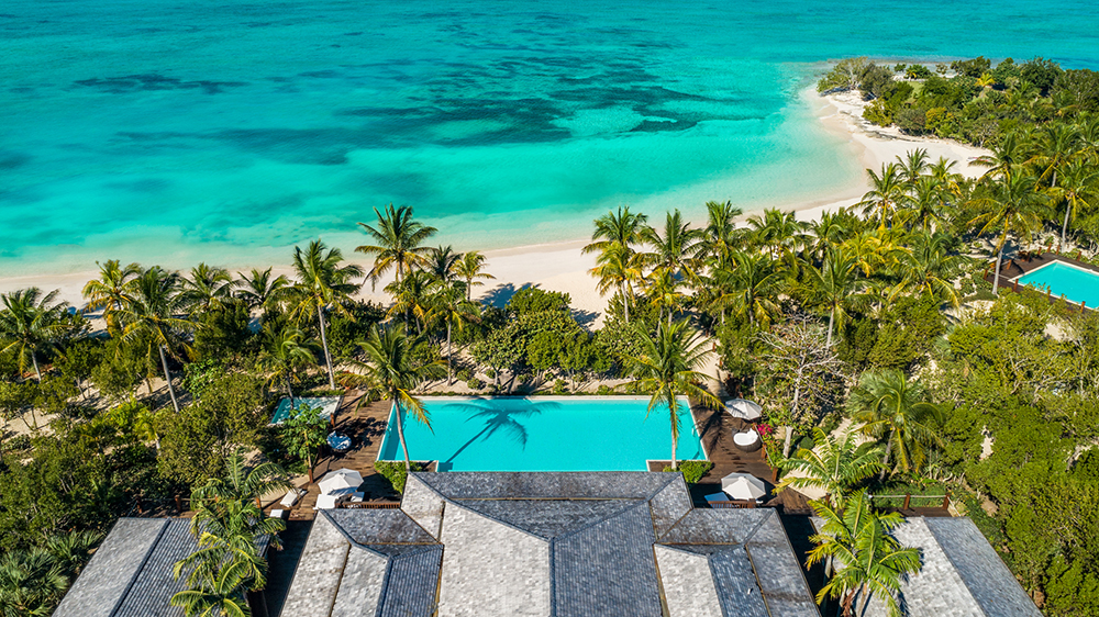 Bruce Willis' $33-mill estate in the Turks and Caicos.