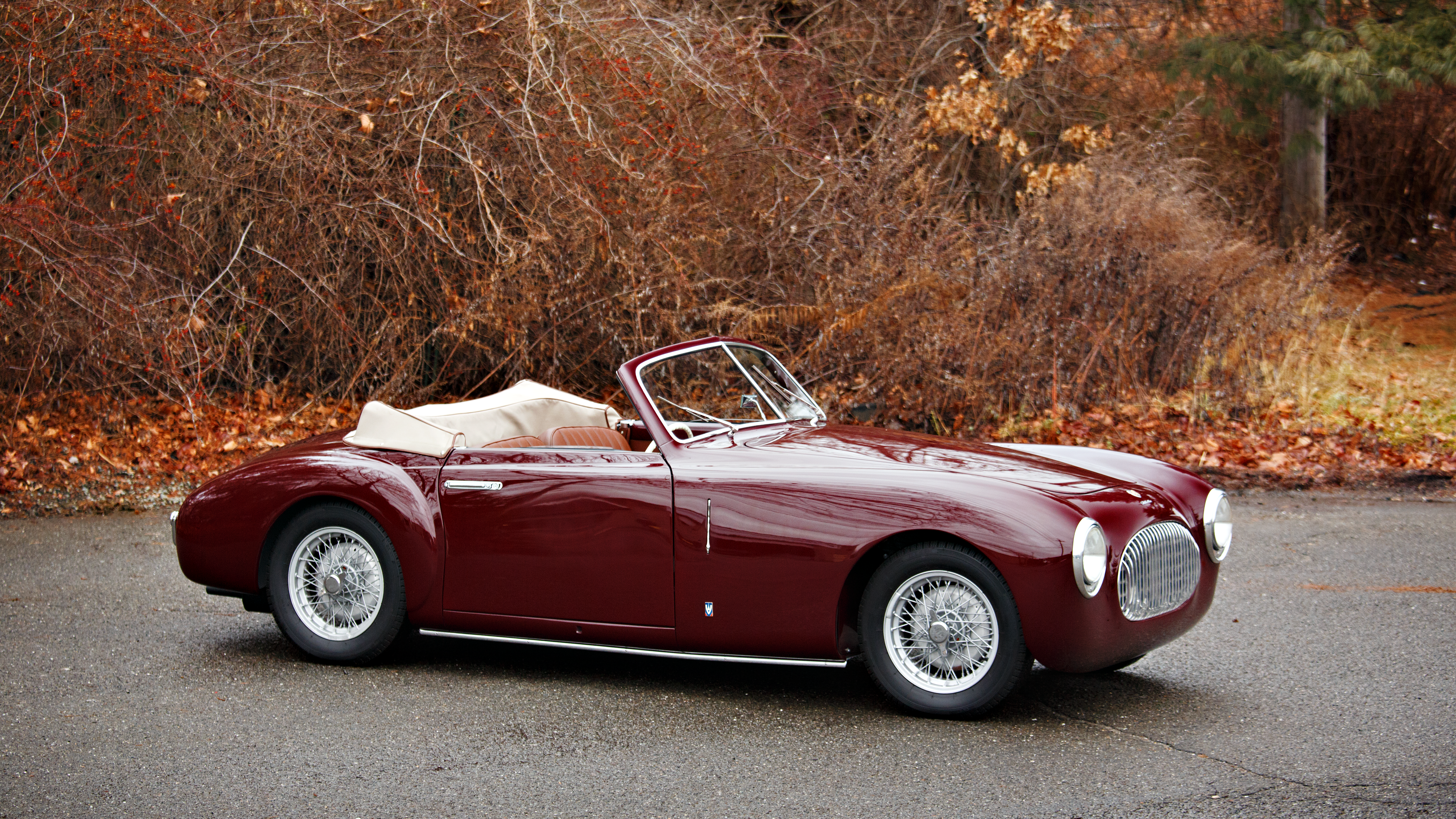 One of only approximately 60 Cisitalia 202 SC Cabriolets produced, this car features coachwork by Vignale