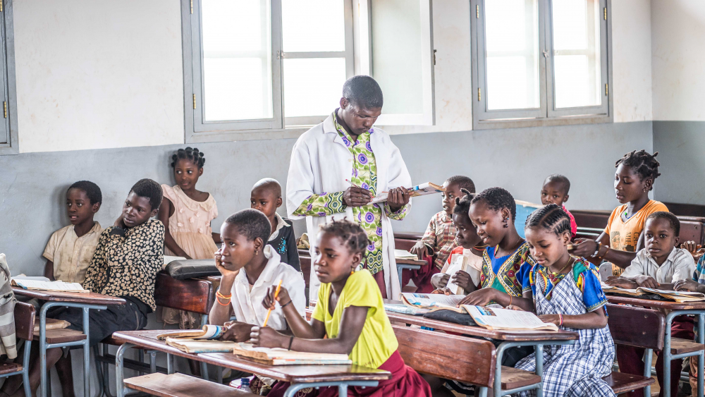 Near a mine in Mozambique, Gemfields pays for four schools that are now educating almost 2,000 local students.