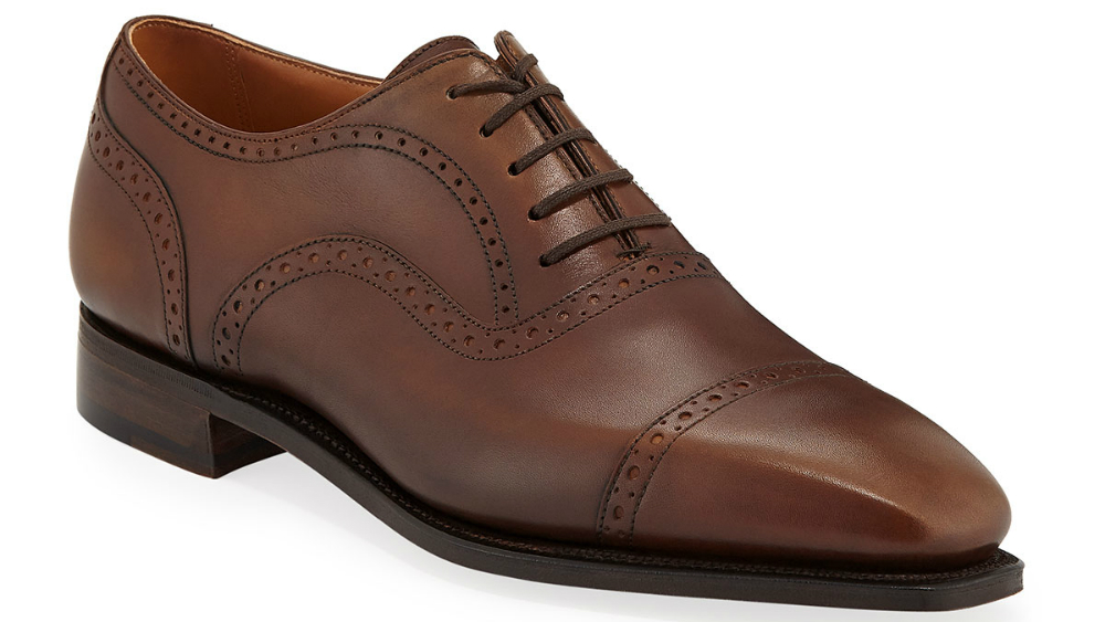 Corthay Men's Cap-Toe Dress Shoes