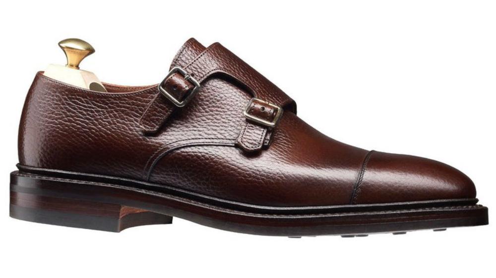 Crockett and Jones Harrogate Double Monkstrap Shoe