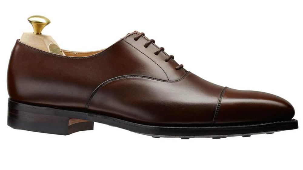 Crockett and Jones Hallam Cap-Toe Shoe