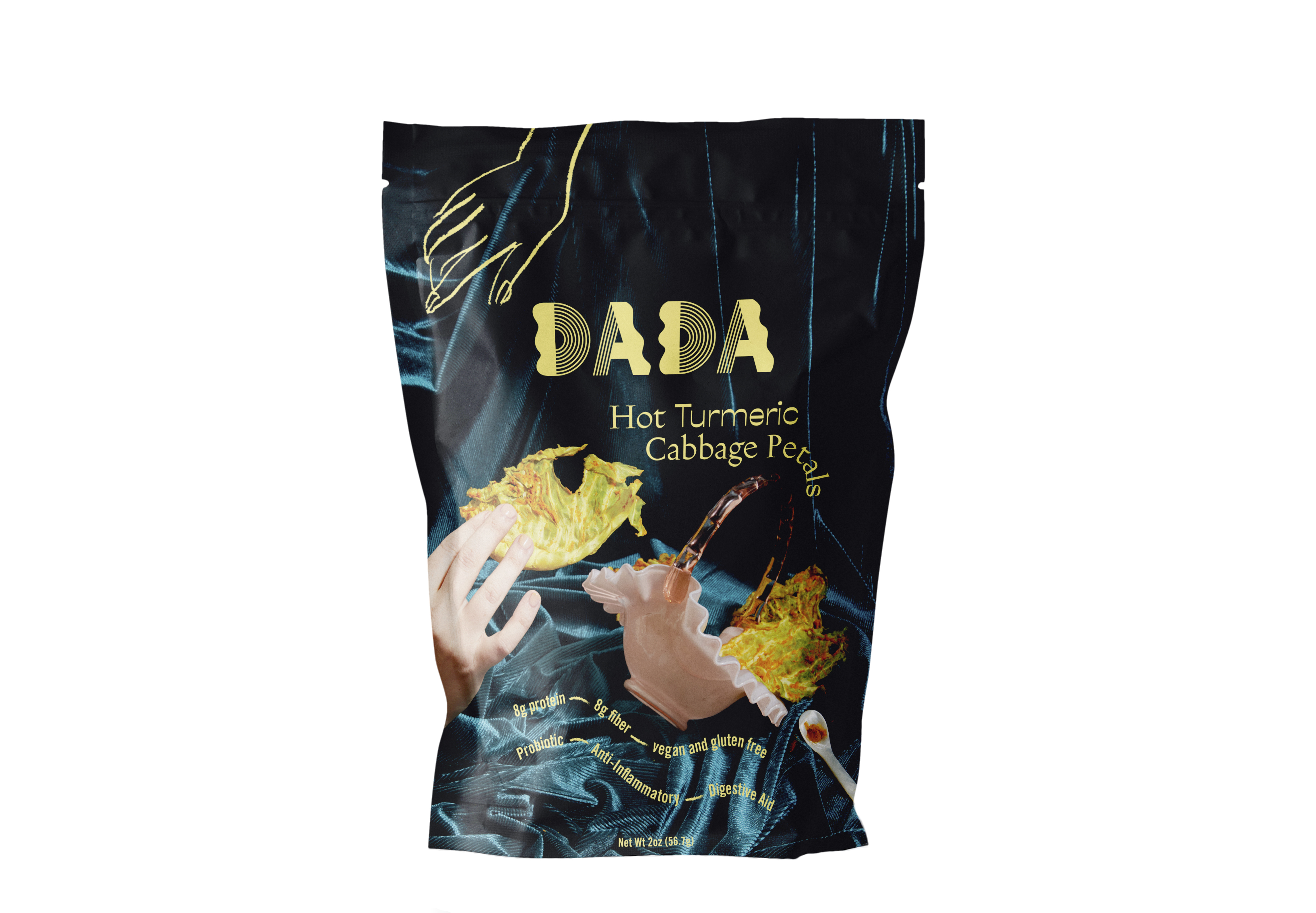 Dada Daily's hot turmeric cabbage petals