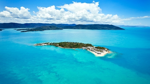 Daydream Island in the Whitsundays, Great Barrier Reef, Australia