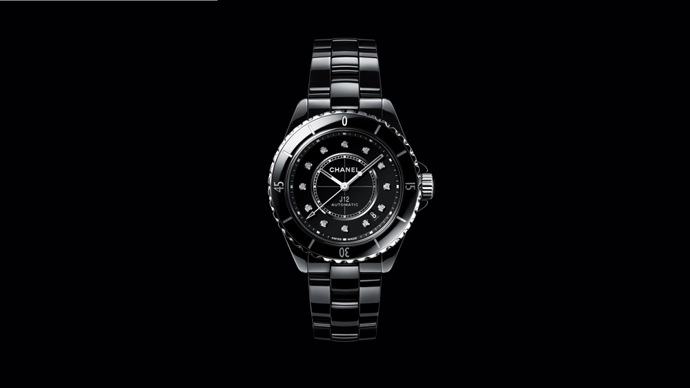 Chanel J12 with Diamond Markers