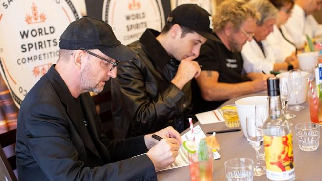 Judges at the San Francisco World Spirits Competition.