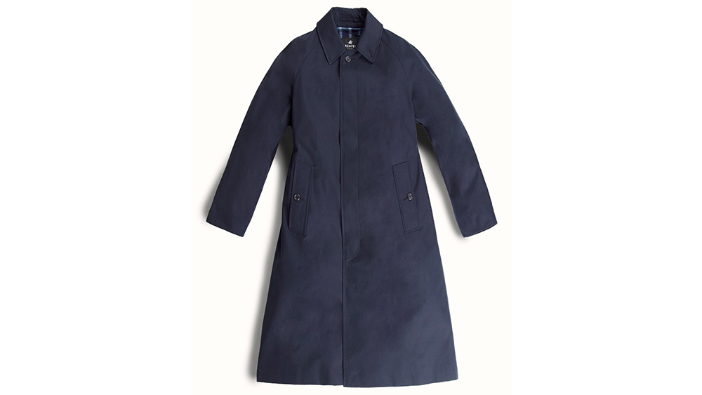 A classic navy mac from Grenfell